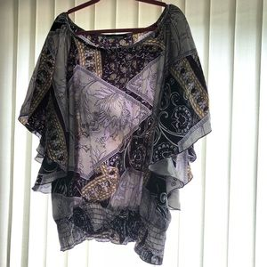 Tops - Plus Size Short Sleeve Top